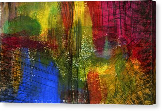 Surfacing Canvas Print