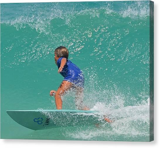Surfer Boy Canvas Print