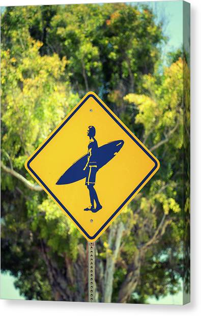 Surfer Xing 2 Canvas Print