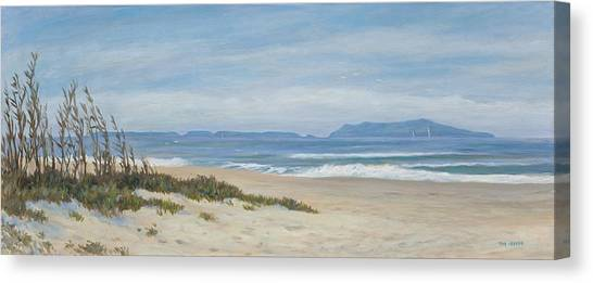 Surfer's Knoll  Canvas Print by Tina Obrien