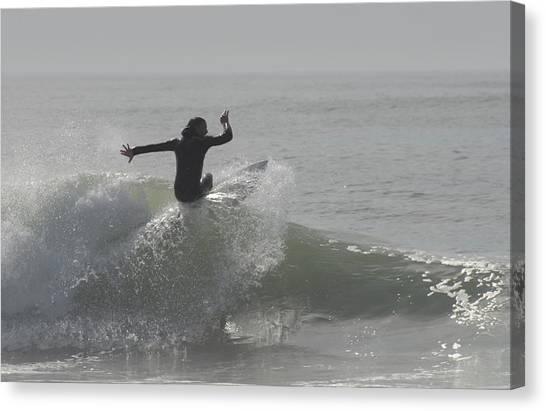 Surfing 114 Canvas Print by Joyce StJames