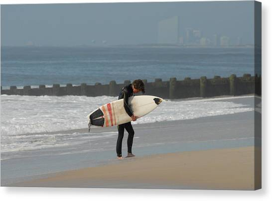 Surfing 116 Canvas Print by Joyce StJames