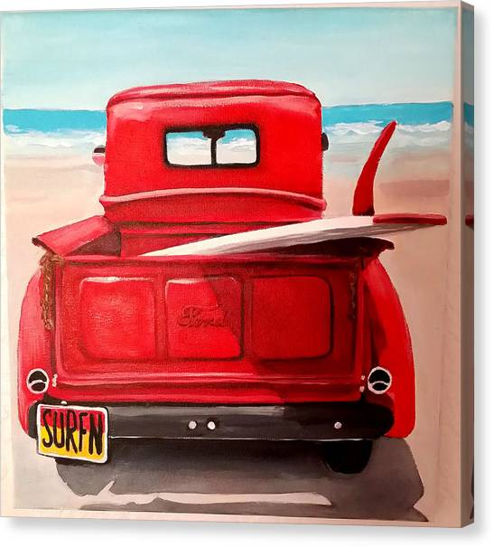 Surfn Canvas Print