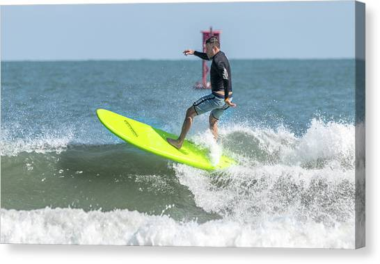 Bodyboard Canvas Print - Surfs Up by Brian Knight