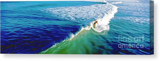 Surfs Up Daytona Beach Canvas Print