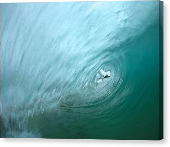 Bodyboard Canvas Print - Surprise by Benen  Weir