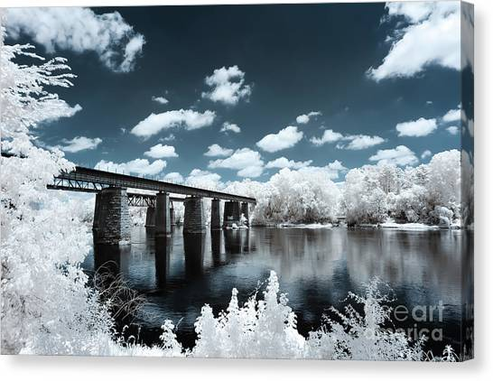 Surreal Crossing Canvas Print