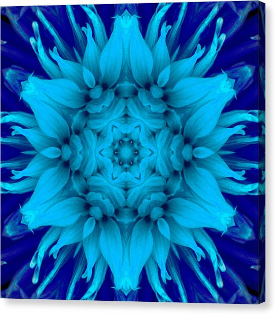 Surreal Flower No. 5 Canvas Print