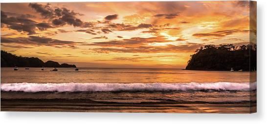 Surreal Sunset  Canvas Print by Michael Santos