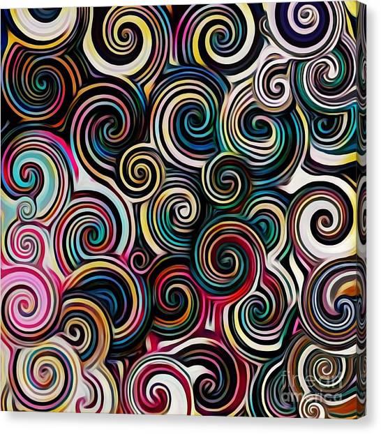 Surreal Swirl  Canvas Print