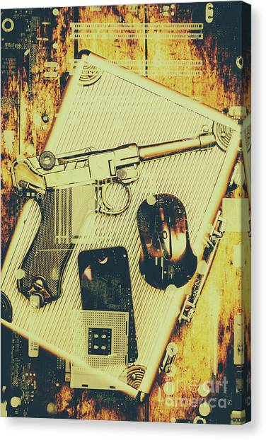 Law Enforcement Canvas Print - Surveillance State by Jorgo Photography - Wall Art Gallery