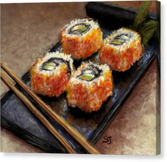 Sushi 2 Canvas Print