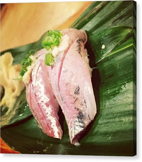 Kenyan Canvas Print - Sushi In Sanjo.... #sushi #sanjo #shijo by Kenya Multipotentialite