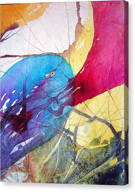 Sushi On Pluto Canvas Print