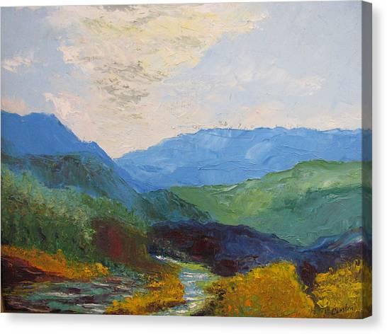 Susquahanna Canvas Print by Belinda Consten