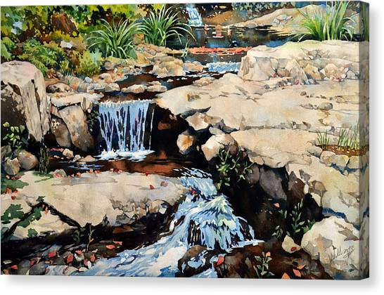 Susquehanna Falls Canvas Print