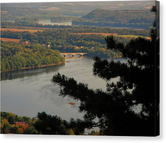 Susquehanna River Below Canvas Print