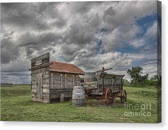 The Sutler's Store Canvas Print