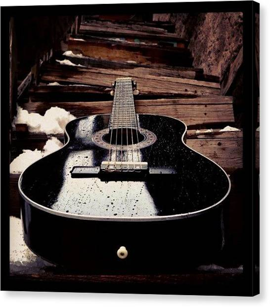 Guitars Canvas Print - Sutro. #jj_forum_0447 #jj #music by Mary Carter