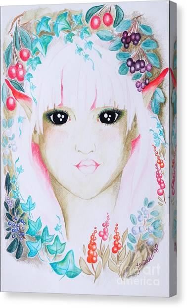 Suvi Canvas Print by Tiina Rauk