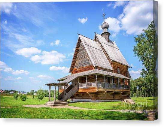 Orthodox Art Canvas Print - Suzdal by Delphimages Photo Creations