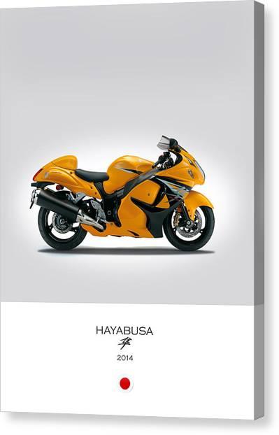 Suzuki Canvas Print - Suzuki Hayabusa 2014 by Mark Rogan