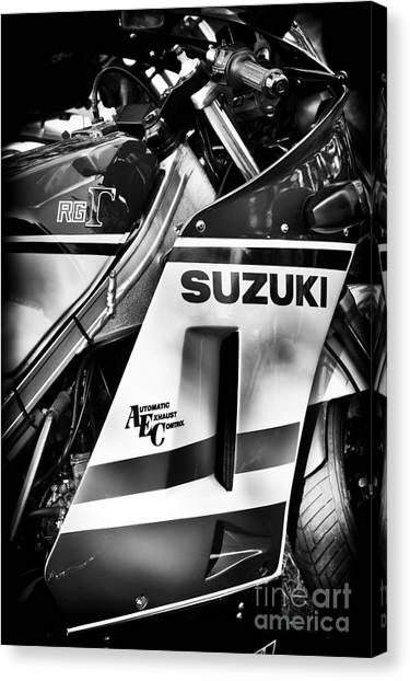 Suzuki Canvas Print - Suzuki Rg500 by Tim Gainey