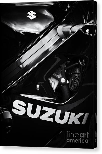 Suzuki Canvas Print - Suzuki by Tim Gainey