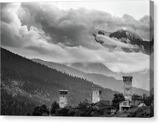 Svan Towers Canvas Print