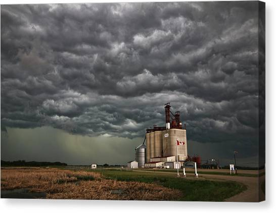 Swallowed By The Sky Canvas Print