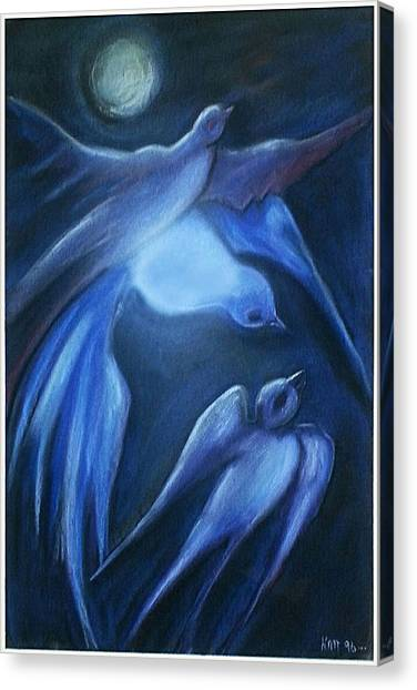 Swallows Canvas Print