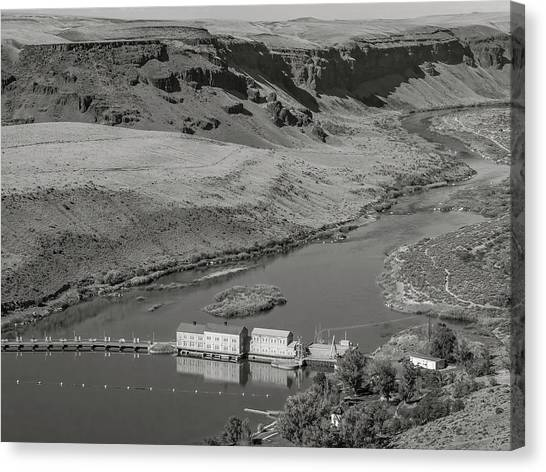 Swan Falls Dam Canvas Print
