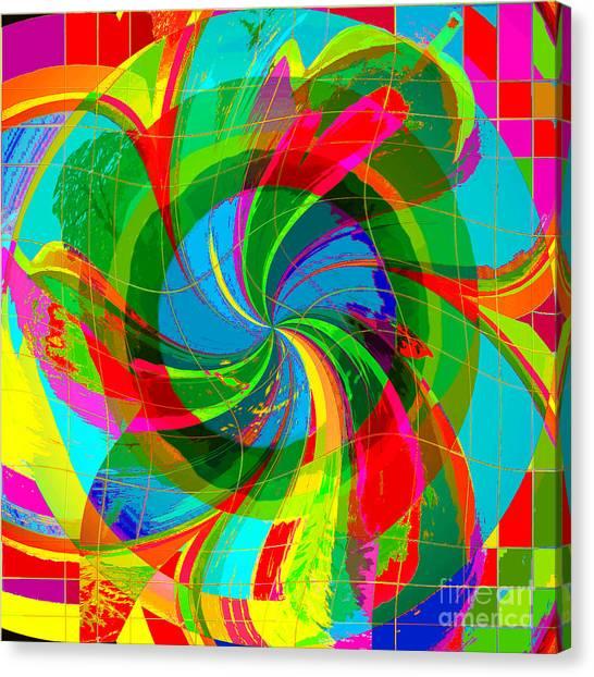 Swan-river Canvas Print