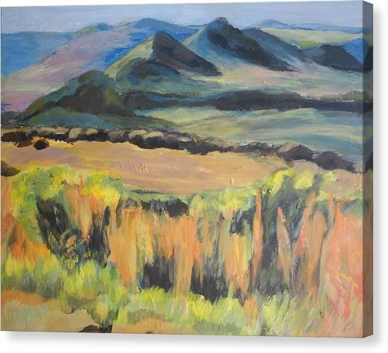 Swartberge Canvas Print