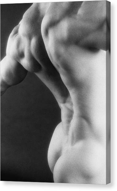 Bodybuilder Canvas Print - Sweep by Thomas Mitchell