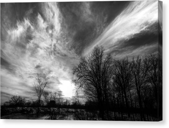 Sweeping Sky Canvas Print