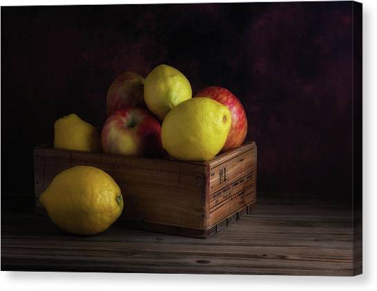 Apple Canvas Print - Sweet And Sour Fruits Still Life by Tom Mc Nemar