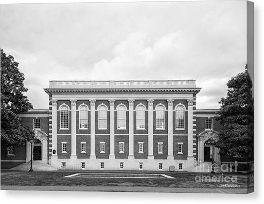 Sweet Briar Canvas Print - Sweet Briar College Cochran Library by University Icons