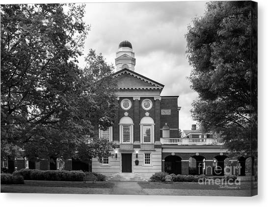 Sweet Briar Canvas Print - Sweet Briar College Pannell Cente by University Icons