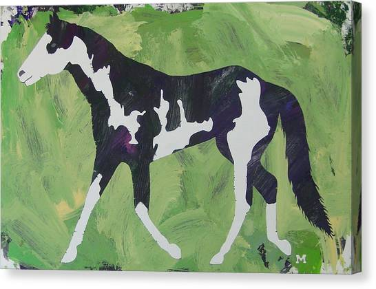 Canvas Print featuring the painting Sweet Caroline by Candace Shrope