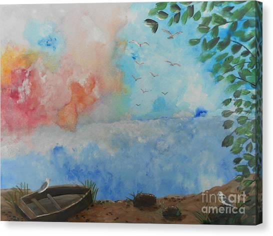Sweet Dreams Canvas Print by Barbara McNeil