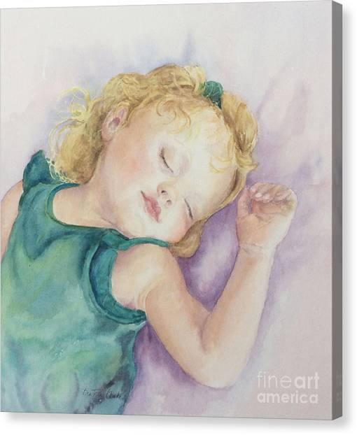 Sweet Dreams Lucy Canvas Print
