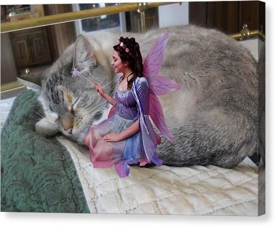 Sweet Dreams Weezy Canvas Print