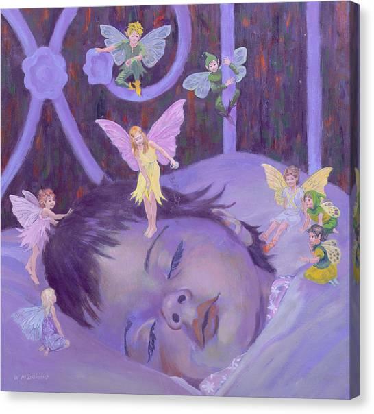 Sprite Canvas Print - Sweet Dreams by William Ireland