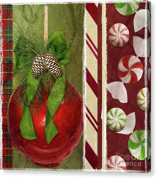 Amaryllis Canvas Print - Sweet Holiday II by Mindy Sommers