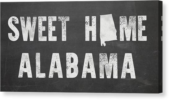 Sweet Home Alabama Canvas Print