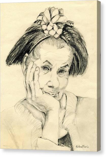 Canvas Print - Sweet Lady by Rich Travis