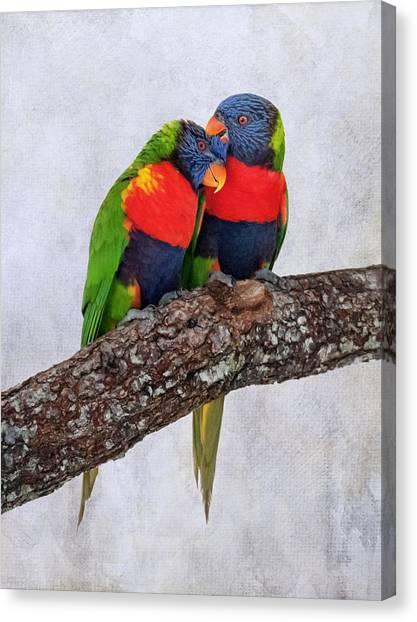 Sweet Pair Canvas Print