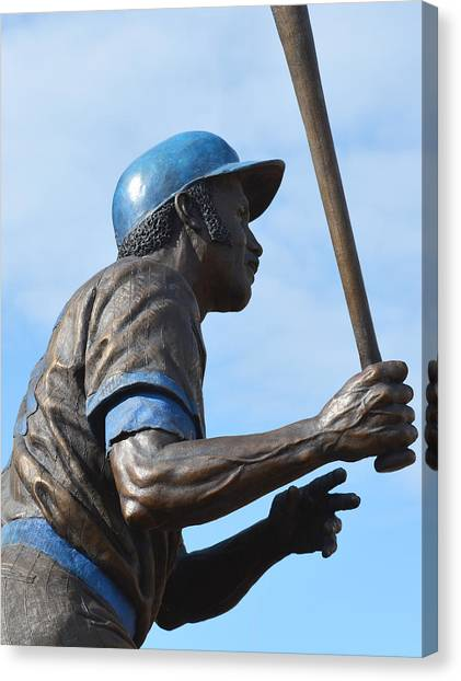 Oakland Athletics Canvas Print - Sweet Swinging Billy Williams 2 by Richard Andrews
