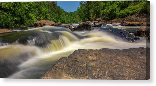 Sweetwater Creek Long Exposure 2 Canvas Print